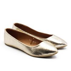 Diskon Besardea Flat Shoes 1607 200 Gold