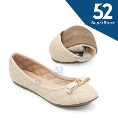 Cuci Gudang Dea Shoes Woman Flat Shoes 1702 10 Beige 36 40