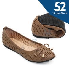Dea Flat Shoes / Selop / Trepes 1702-14 - Khaki Size 36/41