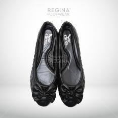 Jual Beli Dea Flat Shoes Selop Trepes 1702 15 Black Size 36 41 Di Jawa Timur