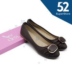 Iklan Dea Flat Shoes Wanita 1607 107 Brown Size 36 41