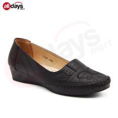Dea Lady Flat Shoes 1609 900 Black Terbaru