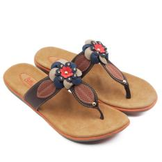 Diskon Dea Sandal Flat Wanita 1607 09 Red Size 36 41 Dea