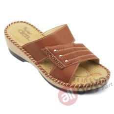 Jual Dea Sandal Wedges Wanita Selop Shoes 1611 040 Camel Ori