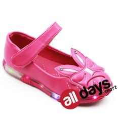 Model Dea Sepatu Anak Perempuan Flat 1609 356 Peach Terbaru
