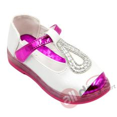 Katalog Dea Sepatu Anak Perempuan Flat Led 1609 359 White Terbaru
