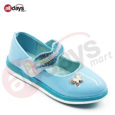 Harga Dea Sepatu Anak Perempuan Flat 1609 364 Blue Seken