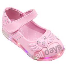 Jual Beli Online Dea Sepatu Anak Selop 1609 358 Pink