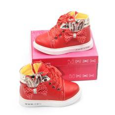 Harga Dea Sepatu Boot Anak Perempuan 1611 105 Red Size 26 31 Yang Murah