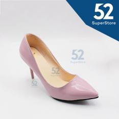 Beli Dea Sepatu Fantofel Wanita High Heels 1604 290 Pink Hak 9 Cm Nyicil