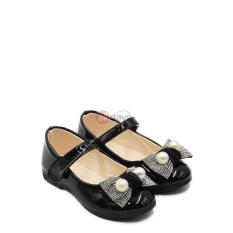 Spesifikasi Dea Sepatu Flat Anak Perempuan 1704 137 Black Size 26 30 Dea