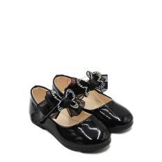 Dea Sepatu Flat Anak Perempuan 1704 138 Black Size 26 30 Murah