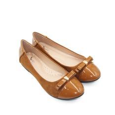 Ulasan Lengkap Tentang Dea Sepatu Flat Trepes Selop Lady Flat Shoes 1702 06 Camel
