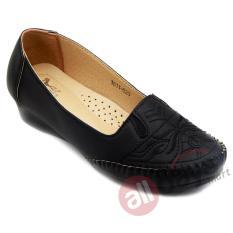 Harga Dea Sepatu Flat Trepes Selop Moccasin Flat Shoes 1611 020 Black Paling Murah