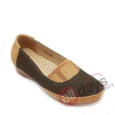 Toko Dea Sepatu Flat Trepes Selop Moccasin Flat Shoes 1611 027 Camel Online Di Indonesia