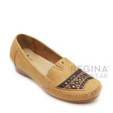 Harga Termurah Dea Sepatu Flat Trepes Selop Moccasin Flat Shoes Wanita 1611 024 Camel