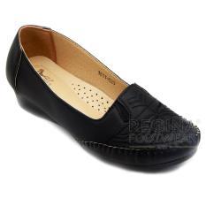 Harga Dea Sepatu Flat Trepes Selop Moccasin Flat Shoes Wanita Wanita 1611 020 Black Baru