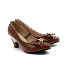 Promo Dea Sepatu Pantofel Wanita 1607 1016 Brown Size 36 40 Indonesia