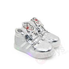 Jual Dea Sepatu Sneaker Led Anak Perempuan 1611 108 Silver Dea