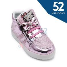 Dea Sepatu Sneaker LED Anak Perempuan 1706-109 Pink - Size 26/30