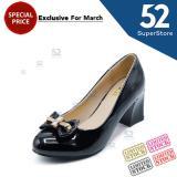 Diskon Dea Sepatu Wanita Hak Wedges 03 Black Size 36 41 Random Motif Dea Di Jawa Timur
