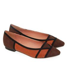 Review Toko Dea Triangle B*k*n* Flat Shoes 1607 300 Coffe Camel Size 36 41 Online