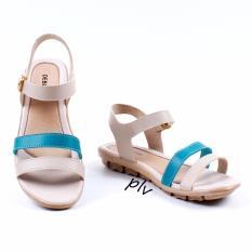 Beli Debuchy Sepatu Sandal Wanita Flat Tali Ad04 Toska Murah Jawa Barat