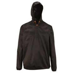 Decathlon Jaket Compact Hoodie Hiking Hujan Waterproof Quechua - Hitam By Aukanashop.