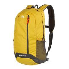 Decathlon Quechua Arpenaz 20 L Day Hiking Backpack - Yellow Tas Rangsel Gunung Sepeda Lari Sekolah Kantor 20L
