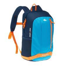DECATHLON QUECHUA KIDS HIKING BACKPACK ARPENAZ 15 LITRE JUNIOR - BLUE ORANGE Tas rangsel anak sekolah kantor kerja 15L 15 L