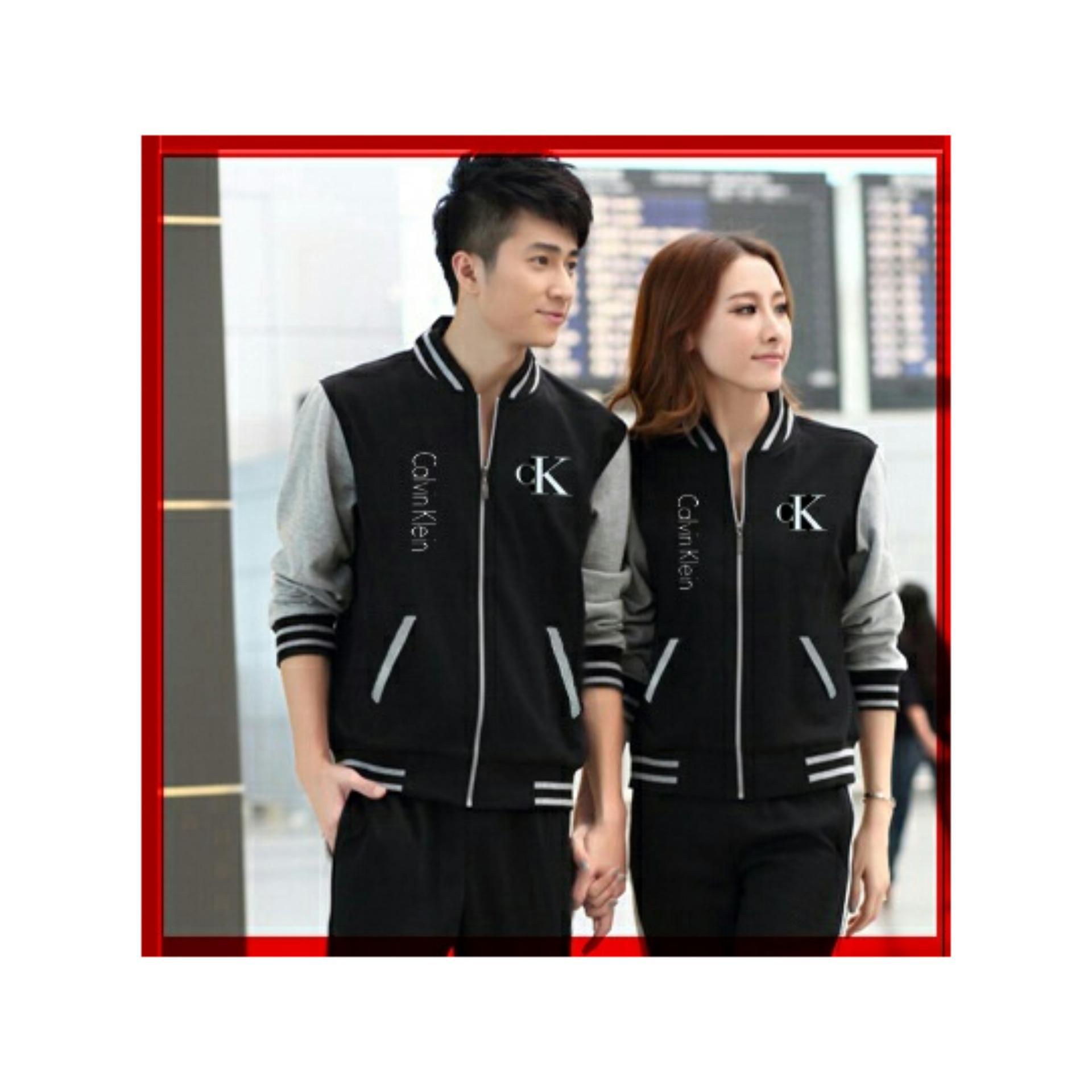 DeCouple Jaket Baru Pasangan Wanita dan Pria CK   Jacket Couple Calvin   Jaket  Sepasang   979da131fa