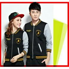 Harga Ratucouple Jaket Pasangan Lambo Jacket Couple Club Jaket Sepasang Jacket G*rl Jaket Pria Lc Hitam Satu Set