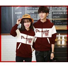 DeCouple Jaket Pasangan Pusple / Jacket Couple / Jaket Sepasang / Jacket Girl & Jaket Pria LC - Maroon