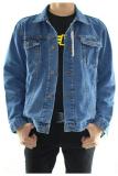 Dections Jaket Jeans Pria Wash Biru Original
