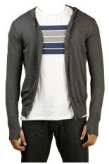 DEcTionS Sweater Rajut Ariel Knite Hoodie - Abu Tua - Bestseller