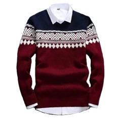 DEcTionS Sweater Rajut Pria Columbus Tribal