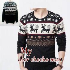 Tips Beli Dections Sweater Rajut Pria Deer Coco Man