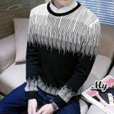 Beli Dections Sweater Rajut Pria Gradasi Tribal Dections Asli