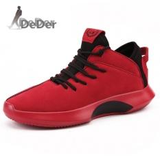 Review Deder Pria Sport Menjalankan Sepatu Outdoor Kasual Wlaiking Sneakers Kasut Lelaki Intl Deder
