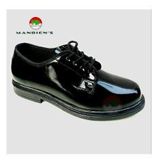 Dee Shoes Sepatu Dinas Polisi PDH TNI Pendek PDK (Hitam)