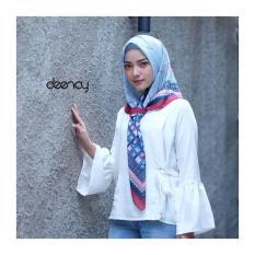Deenay - hijab printing voal motif selma