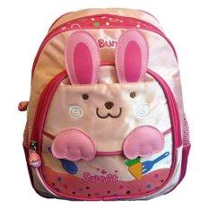 Deerde Ransel Play Group Rabbit Bunny Pink Promo Beli 1 Gratis 1