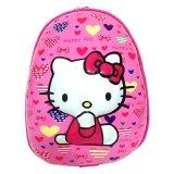 Jual Deerde Ransel Telur 3D Tk Hello Kitty Pink