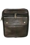 Jual Deerde Sling Bag Organizer Kulit Asli Import Sb701 Coklat Online Di Indonesia