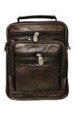 Jual Deerde Sling Bag Organizer Kulit Asli Import Sb902 Coklat Satu Set