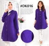 Berapa Harga Dekaco Baju Atasan Tunic Muslim Elegan Dk016 Ungu Di Dki Jakarta