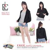 Beli Della Jacket Crop For High Waist Pants Black Murah Di Dki Jakarta