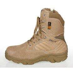 Spesifikasi Delta Dbest Sepatu Boot Hiking Delta High 8Inch Quality Outdoor Gurun Paling Bagus