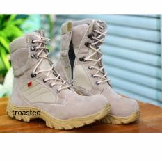 delta Kickers Boots Boot Safety Ujung Besi Tracking Touring Motor Adventure Gurun Sepatu Outdoor Pdl Delta