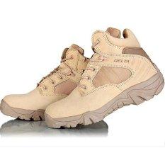 Delta Sepatu Army Tracking Shoes Tactical Pendek Brown Original